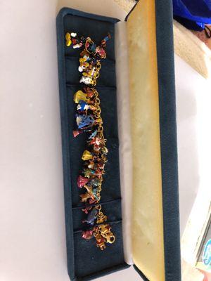 Disney charm bracelet for Sale in Phoenix, AZ