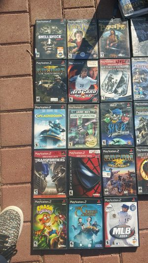 Lots of ps2 games for Sale in Riverton, VA