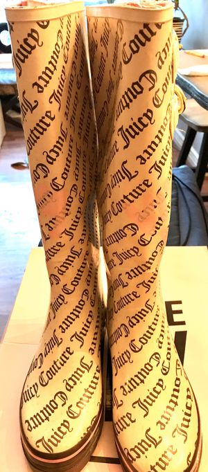 Juicy Couture Sabrina rain boots for Sale in Littleton, CO