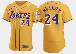 Los Angeles Lakers Kobe Bryant Baseball Jerseys Mens sizes L,XL, XXL, XXXL, 4XL for Sale in Baldwin Park, CA