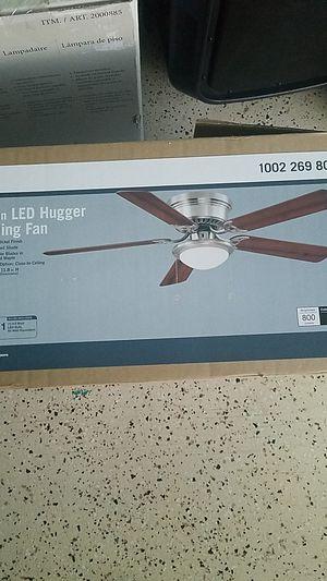 """52"""" Hugger LED ceiling fan for Sale in Corona, CA"""