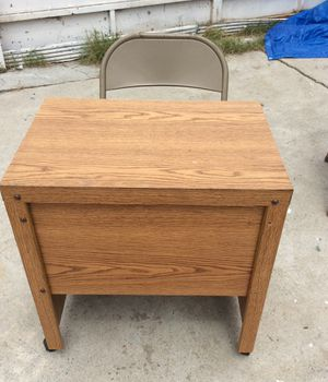 Small rolling desk and chair for Sale in Spring Valley, CA