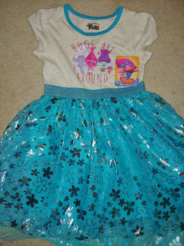 Size S(6-6x) trolls dress