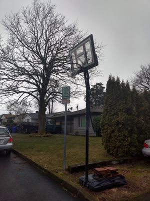 basketball hoop with adjustable height for Sale in Portland, OR