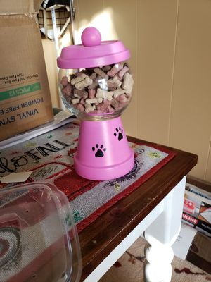 Dog treat jar for Sale in McDonald, PA