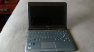 Toshiba Laptop (FOR PARTS) with power box will need the power cord as shown for Sale in Escondido, CA
