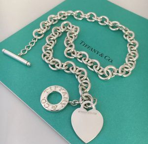 925 TIFFANY & CO authentic beautiful heart toggle necklace it has pouch box and bag for Sale in Dallas, TX