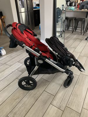 Baby Jogger City Select Double Stroller for Sale in Las Vegas, NV