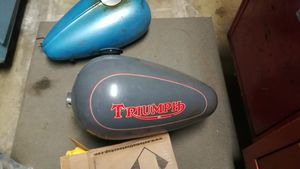Triumph motorcycle gas tank for Sale in Torrance, CA