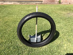 """23"""" Harley Davidson used tire avon cobra great condition for Sale in Lynwood, CA"""