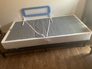 Twin Bed Frame and Metal Box Spring for Sale in San Antonio, TX