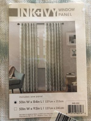 Ink & Ivy curtain panels - new ! for Sale in Phoenix, AZ