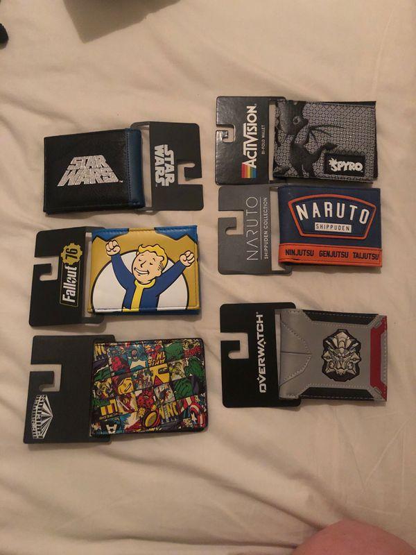 Star Wars,Marvel misc wallets