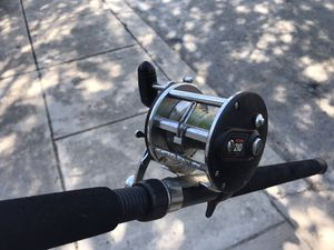 Penn fishing reel and heavy duty rod $45 firm for Sale in San Antonio, TX