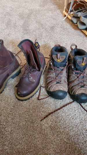Work boots good condition for Sale in Georgetown, TX