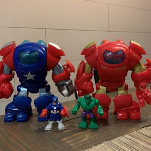 Hulk Busters / Captain America TOYS for Sale in Long Beach, CA