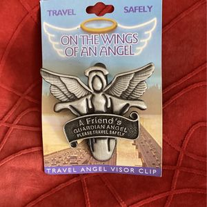 Travel Angel With Visor Clip (Puter) for Sale in Baltimore, MD
