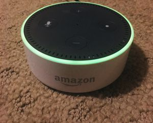 Amazon Alexa Echo Dot (2nd Generation) White for Sale in Portland, OR