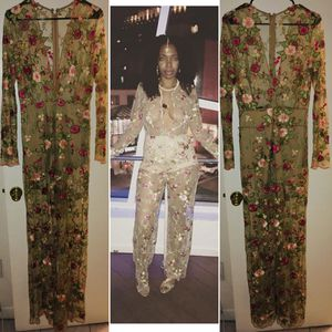 Va Va Voom floral lace long sleeved jumpsuit. for Sale for sale  Brooklyn, NY