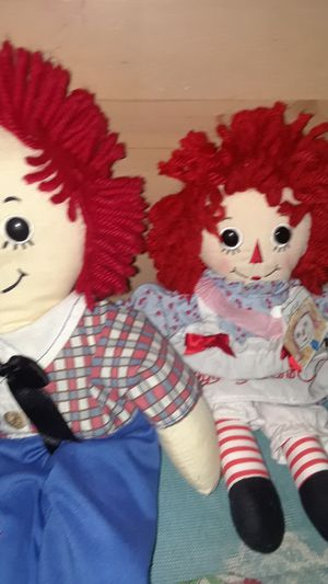 Raggedy andy and Raggedy Ann for Sale in Castro Valley, CA