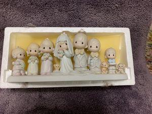 Enesco Precious Moments E2838 Porcelain Figurine Limited Edition Wedding Party for Sale in Swedesboro, NJ