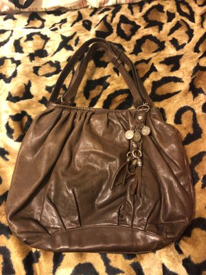 Designer Italian leather hobo handbag with dust bag. for Sale in Bristol, PA