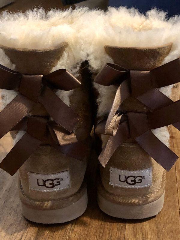 Little girls UGG boots