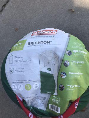 Coleman Brighton Sleeping Bag for Sale in Gilbert, AZ