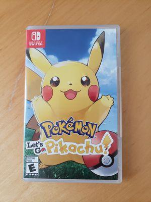Let's Go Pikachu - Nintendo Switch for Sale in Ashburn, VA