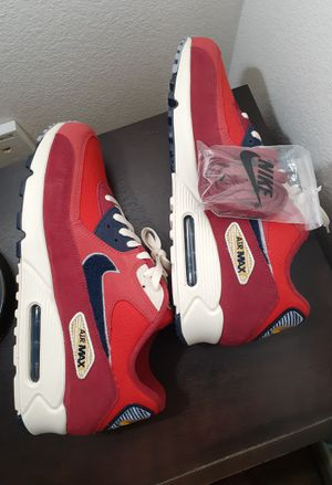 Nike Air Max 90 Varsity Pack University Red 858954-600 for Sale in San Diego, CA