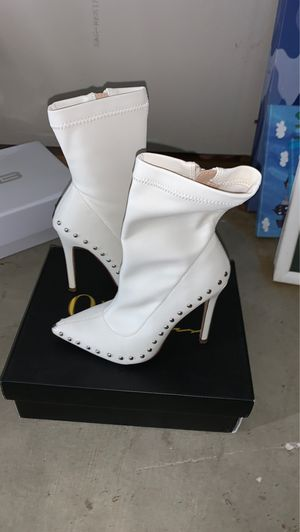 White cowgirl boots for Sale in Downey, CA