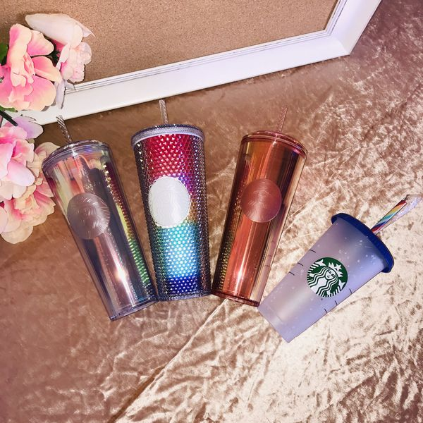 Starbucks Set 4 Huge Rainbow Rare Cup Bundle All Together