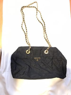 Prada bag with Gold/leather chains for Sale in Tukwila, WA