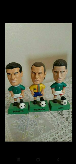 Lot Of The 3 soccer bobble head toy for Sale in Rancho Cucamonga, CA