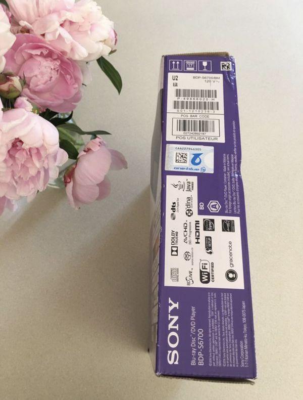SONY Blu Ray / DVD player - Brand New
