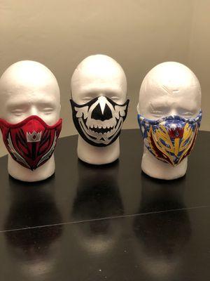 Face Masks - Lucha Libre/ Wrestling - Cubre Bocas P2 for Sale in Chula Vista, CA