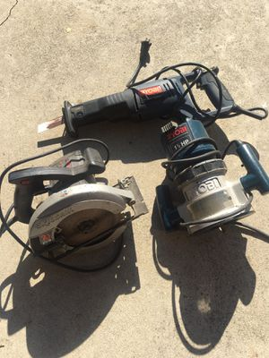 Power tools. Working good. $90 for all 3 for Sale in Downey, CA