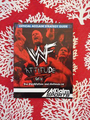 WWF attitude strategy guide for Sale in Pomona, CA