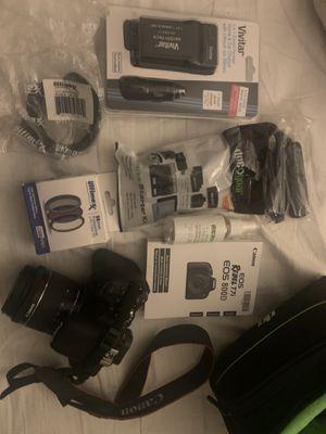 Canon EOS Rebel T7i/800D DSLR Camera with 18-55mm STM Lens for Sale in Upper Marlboro, MD