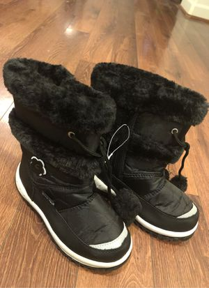 New snow tec boots for girls - size 12 - waterproof snow boots for Sale in Buckeye, AZ