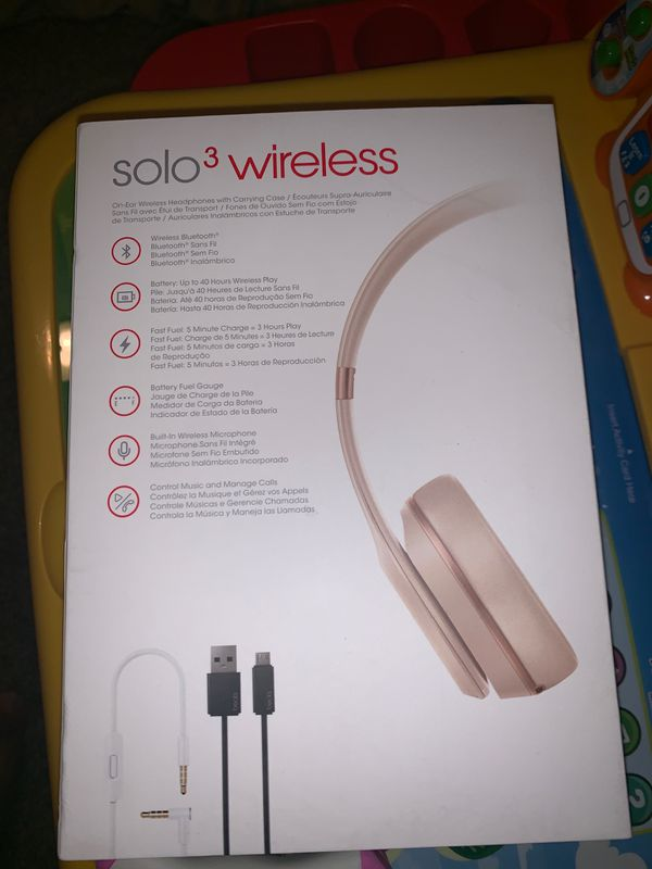 Brand new Dre beatsolo 3 wireless