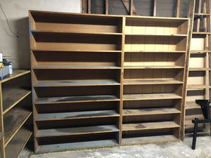 Garage Storage Shelves Solid Wood for Sale in Orange, CA