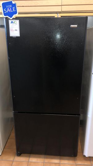 NO CREDIT!! Kenmore CONTACT TODAY! Refrigerator Fridge Black #1473 for Sale in Pasadena, MD