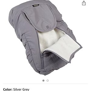 Jolly Jumper Arctic Sneak-A-Peek Car Seat Cover - Grey for Sale in Bakersfield, CA