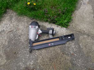 Porter cable framing nail gun. In good condition and works great. for Sale in Federal Way, WA