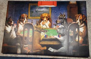 Dogs playing poker for Sale in Pullman, MI