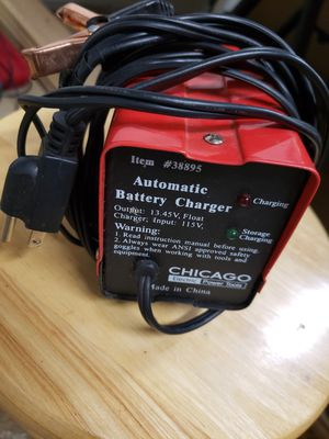 Chicago automatic battery charger for Sale in Forest Grove, OR