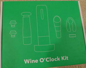 New In Box 9 Piece Wine Gift Set Kit for Sale in Tampa, FL