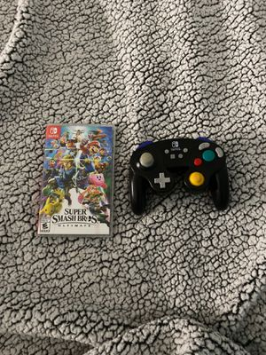 Super smash bros with GameCube controller [Nintendo Switch] for Sale in Lincolnwood, IL