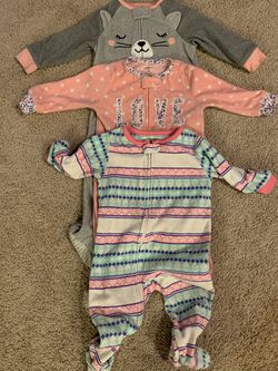 12mos girls pajamas for Sale in Bend,  OR